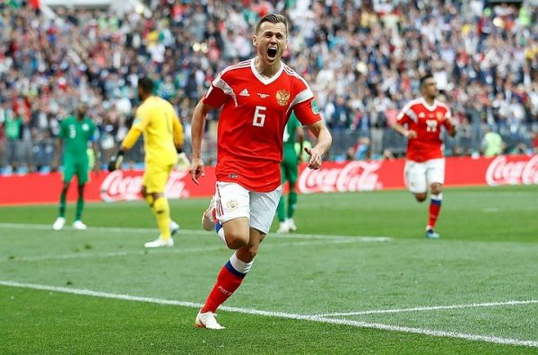 Денис Черышев на Чемпионате мира 2018