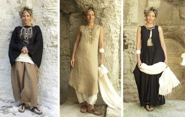 Модная одежда в стиле бохо для женщин за 50
