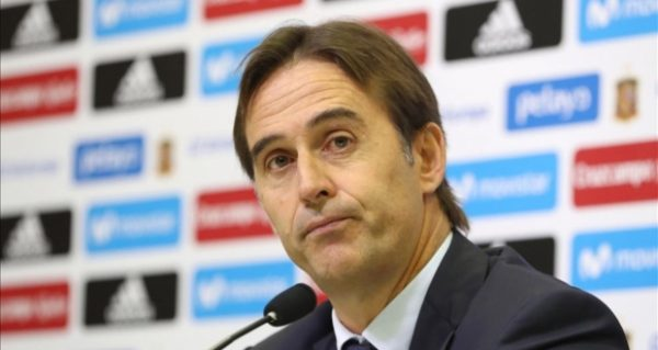 Хулен Лопетеги главный тренер сборной Испании