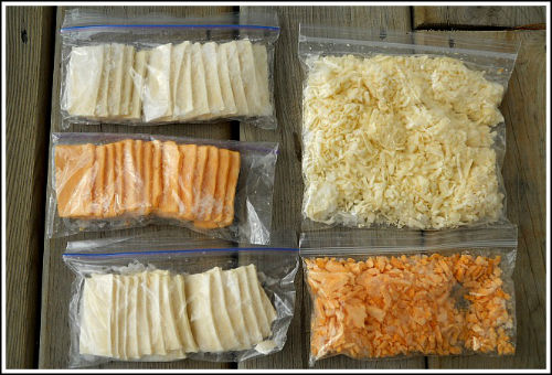Способы замораживания сыра