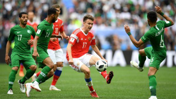 Александр Головин на Чемпионате мира 2018