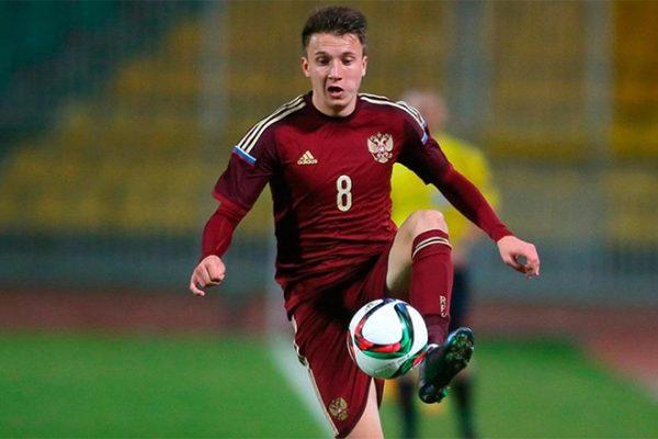 Головин в составе сборной России по футболу