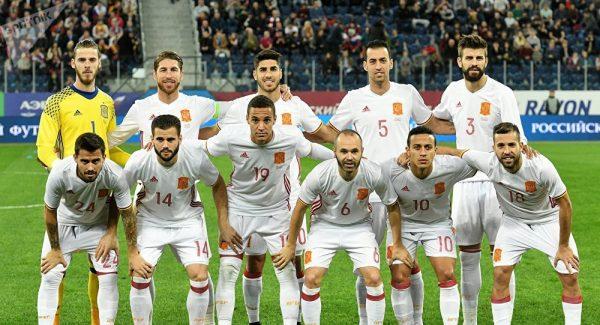 Сборная Испании готова к предстоящему матчу