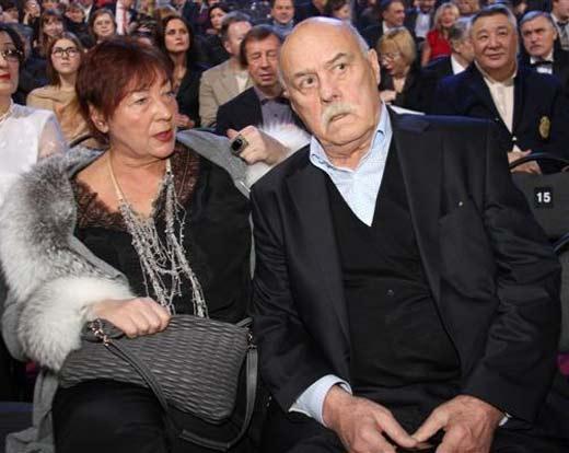 Станислав Говорухин с женой Галиной