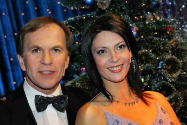 С мужем Алексеем Гуськовым