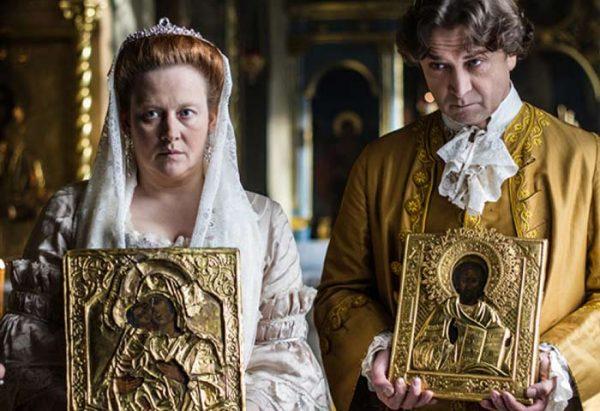 Актриса сыграла роль императрицы Елизаветы Петровны