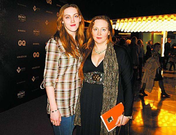 Юлия с дочерью Полиной