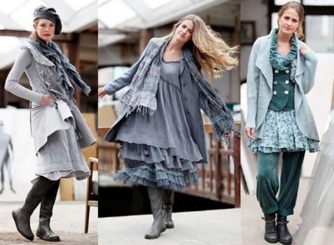 Многослойная одежда в стиле бохо