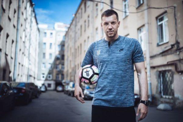 Футболист Артем Дзюба сегодня