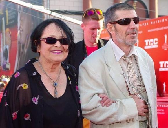 Кира Муратова с супругом