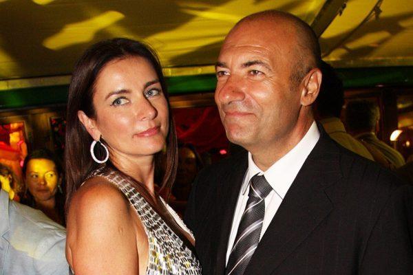 Игорь Крутой со своей женой