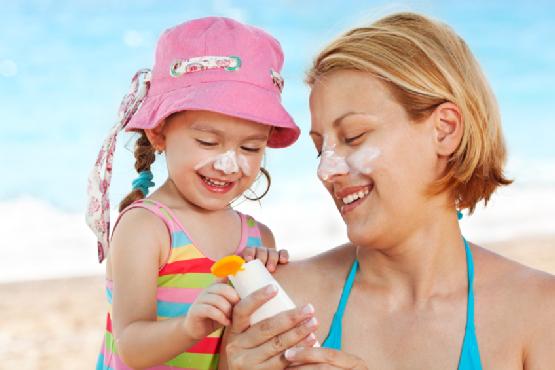Не забудьте взять солнцезащитный крем