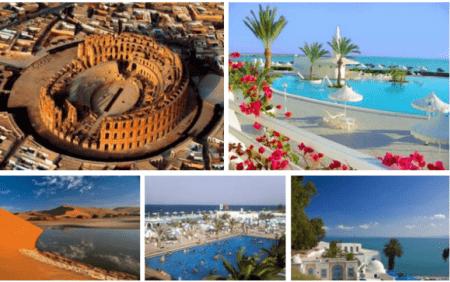 Тунис считается самым популярным туристическим направлением