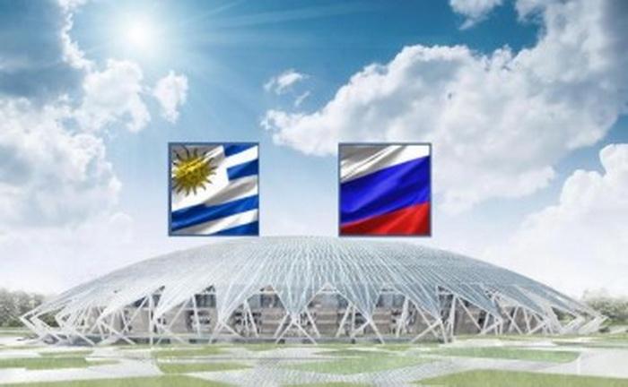 Россия Уругвай сыграют матч на стадионе Самара Арена