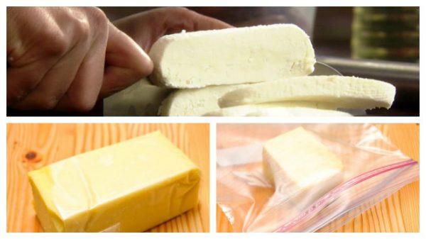 Для замораживания больше подходит сыр твердых сортов