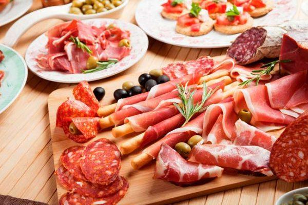 Переработанные виды мяса
