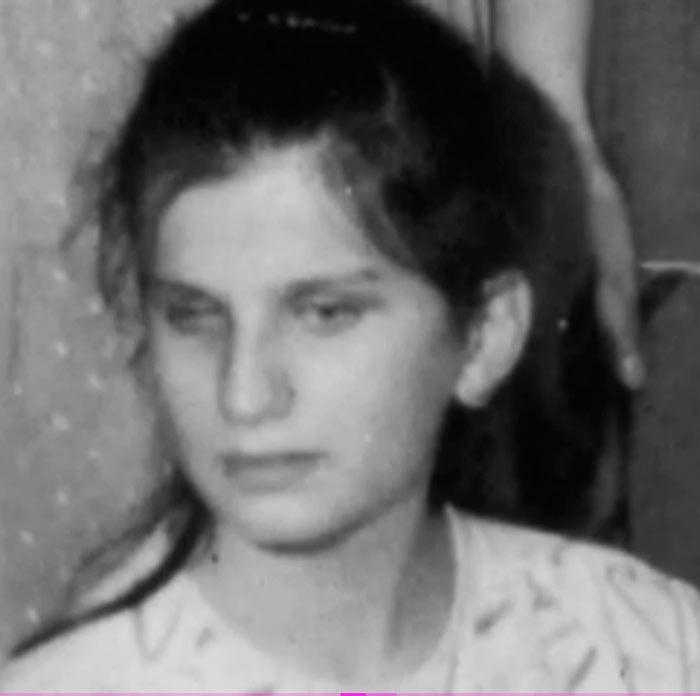 Диана Гурцкая в детстве