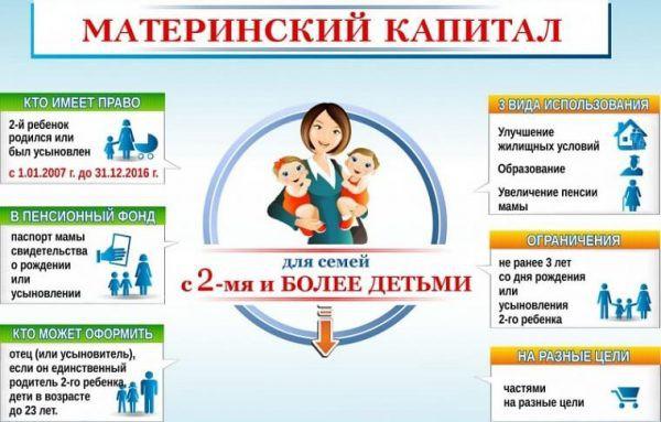 В каких целях можно использовать материнский капитал