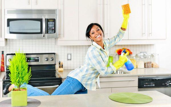 Попробуйте сэкономить на уборке