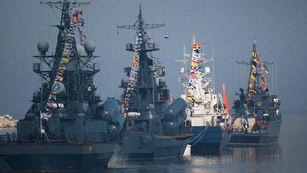 День ВМФ в Санкт-Петербурге 2018