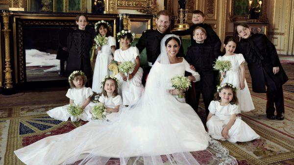 Фото со свадьбы Меган и ее супруга