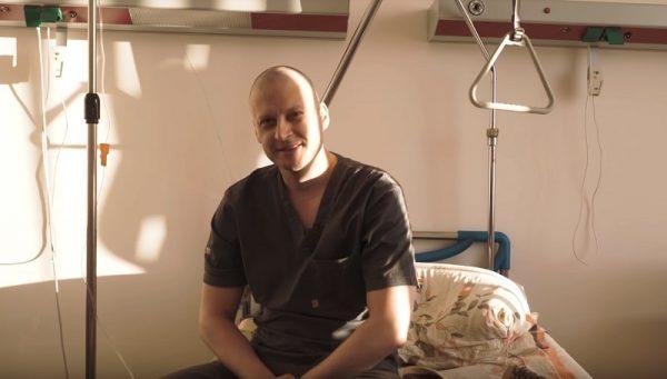 Александр Павленко борется с онкологией