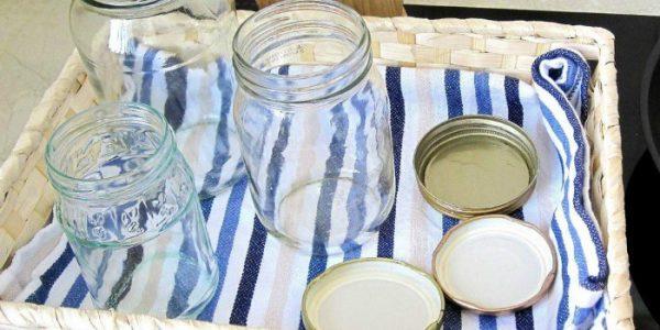 Подготовка стерильных банок
