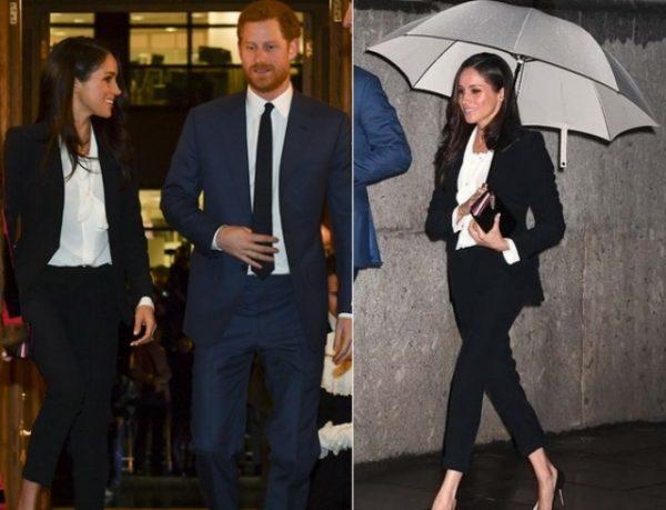 Меган Маркл и принц Гарри порадовали поклонников новым выходом в свет