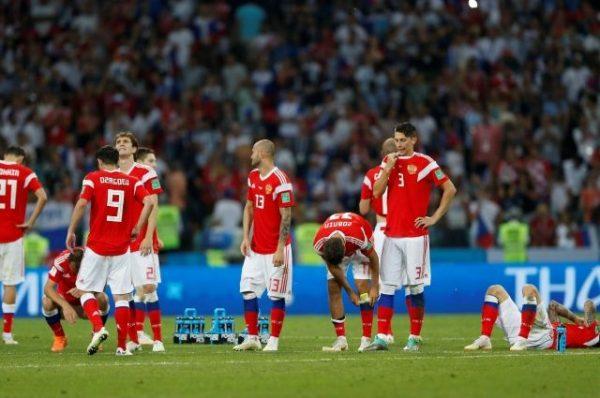 Сборная России проиграла Хорватии в матче 1/4 финала ЧМ-2018