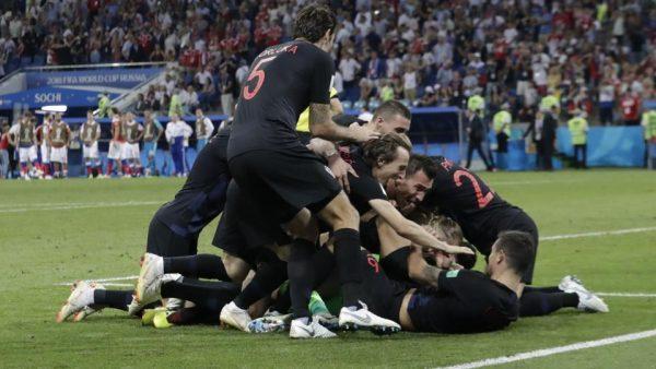 Сборная Хорватии прошла в полуфинал