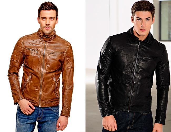 Цвет кожаных курток