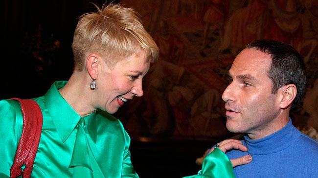 Татьяна Лазарева и Михаил Шац сохранили те же теплые отношения что и были