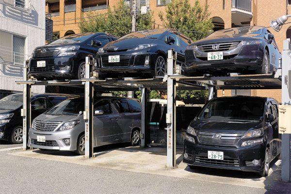 Мини парковки в Японии