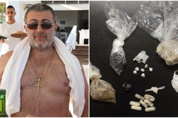 В машине убитого было найдено оружие и наркотические вещества