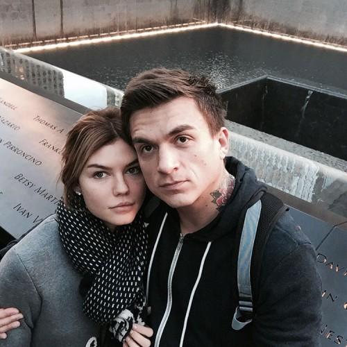 Влад Топалов со своей бывшей женой