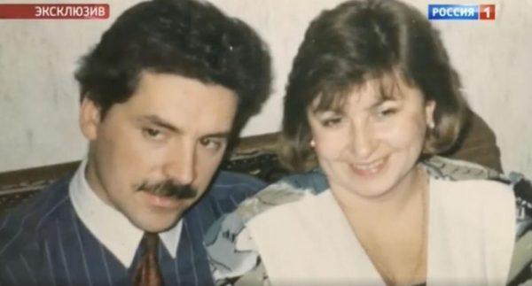 Павел Грудинин в молодости со своей женой