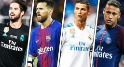 Лучшие игроки ЧМ по футболу 2018