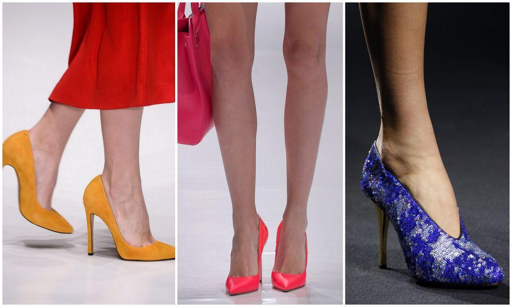 Трендовые туфли на шпильке