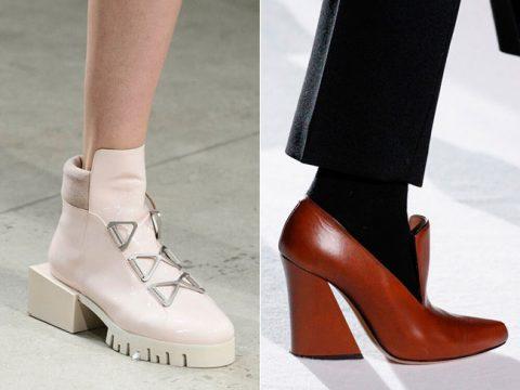 Модные туфли осень 2018 фото