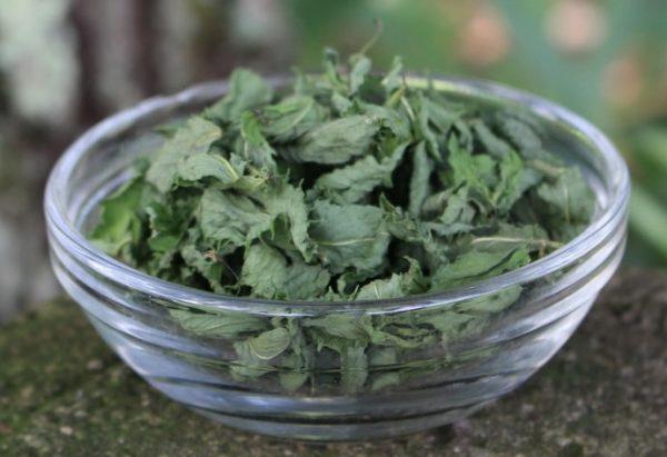 Листья мяты можно высушивать в духовке или микроволновой печи