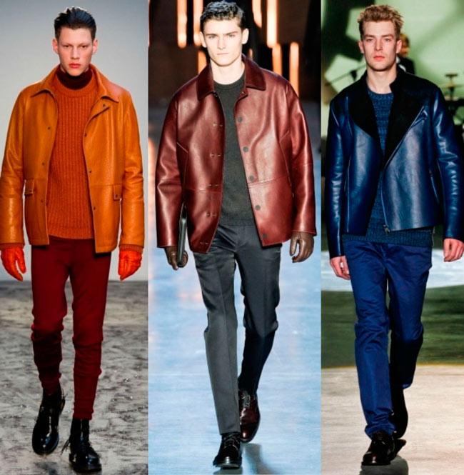 Куртки из кожи