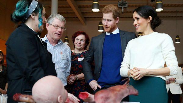 Идеальная пара принц Гарри и Меган Маркл