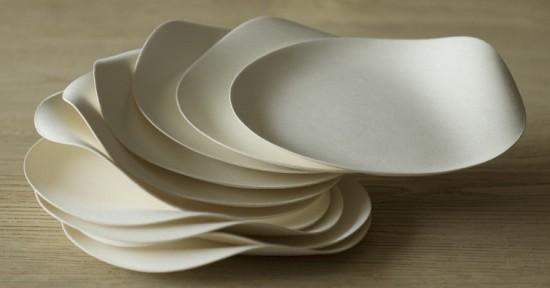 В стране изготавливают экологичную посуду