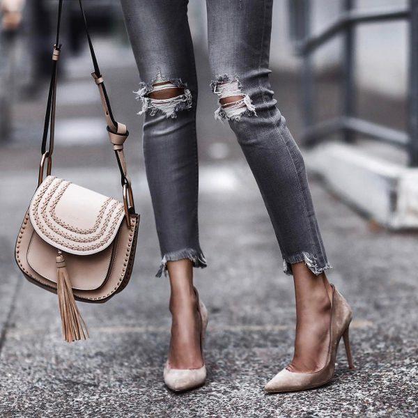 Элегантные сумочки с бахромой