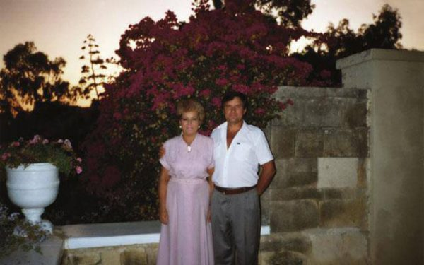 Валентина Матвиенко с мужем