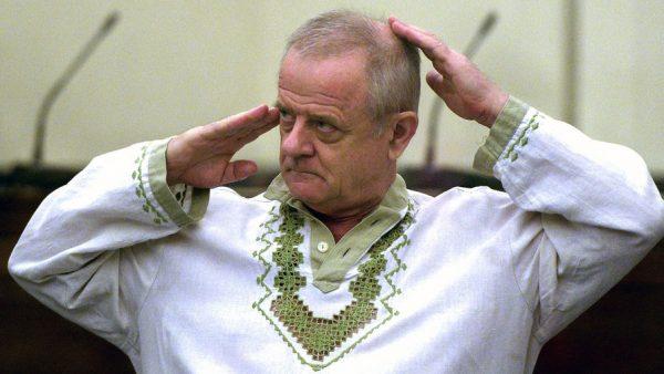 Полковник ГРУ в отставке Владимир Квачков в зале заседаний Лефортовского суда Москвы