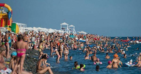 Пляжи Геленджика сегодня