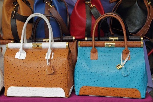Модные сумки из страусиной кожи