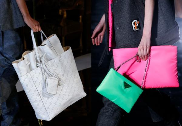Модные двойные сумки