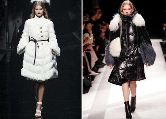 Куртки классических белых и черных цветов